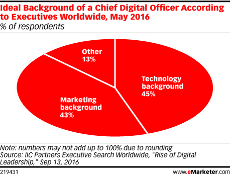 Chief Digital Marketing Officer background